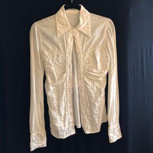 Miu Miu white button shirt long sleeve 38